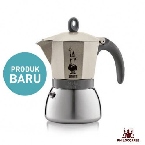 Bialetti Moka Induction Light Gold