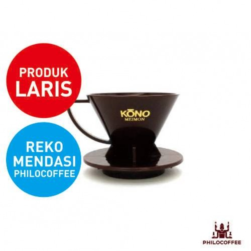 Kono Meimon Coffee Dripper Cokelat