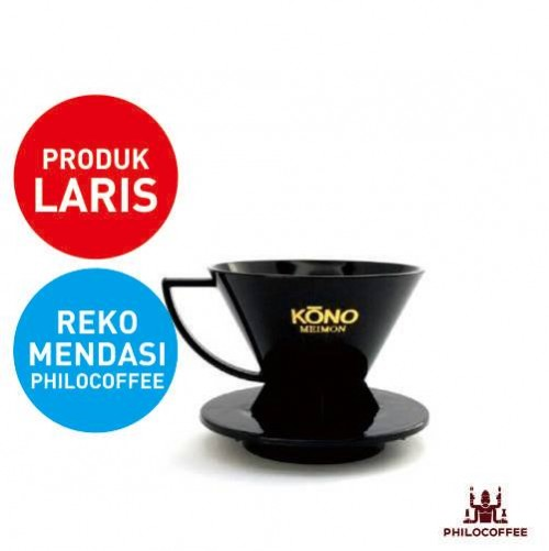 Kono Meimon Coffee Dripper Hitam