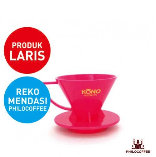 Kono Meimon Coffee Dripper Pink