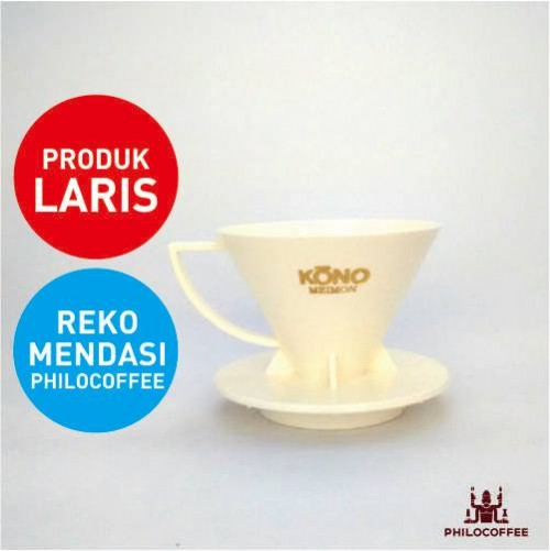 Kono Meimon Coffee Dripper Putih