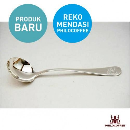 Philocoffee Cupping Spoon Silver Plated