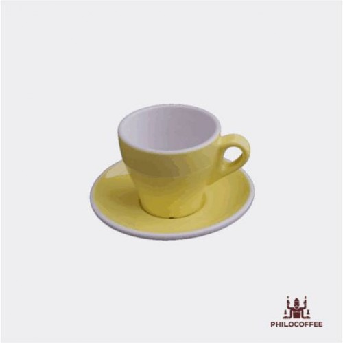 Philocoffee Cangkir Cappuccino 6oz Kuning